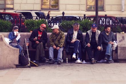 Чисто прудные люди. Ежедневные фотографии Алексея Чеснокова. Фото Алексея Чеснокова