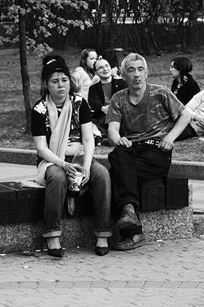 Чисто прудные люди. 5. Ежедневные фотографии Алексея Чеснокова. Фото Алексея Чеснокова