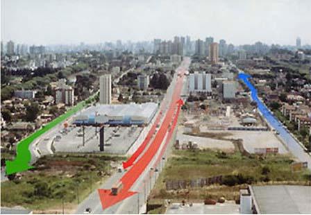 Схема «трех параллельных улиц»