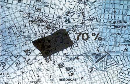 Куритибский grid city вцентральной части города