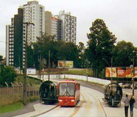 Трассирование автобусных маршрутов пообособленным конструкциям напериферии