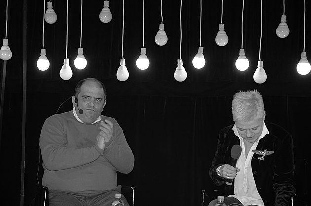 Григорий Ревзин и Татьяна Малкина. Фото Марии Чижовой