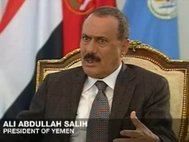 Али Абдалла Салех. Кадр: Al Jazeera