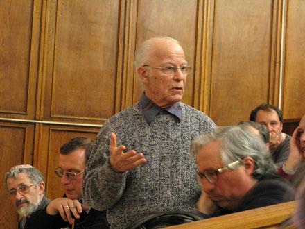 Владимир Антонович Зорич, профессор мехмата МГУ. Фото: Наталья Демина