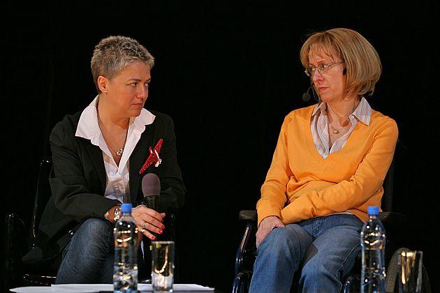 Татьяна Малкина и Ирина Ясина. Фото Наташи Четвериковой