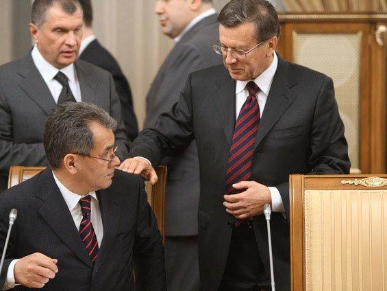Сергей Шойгу и Виктор Зубков