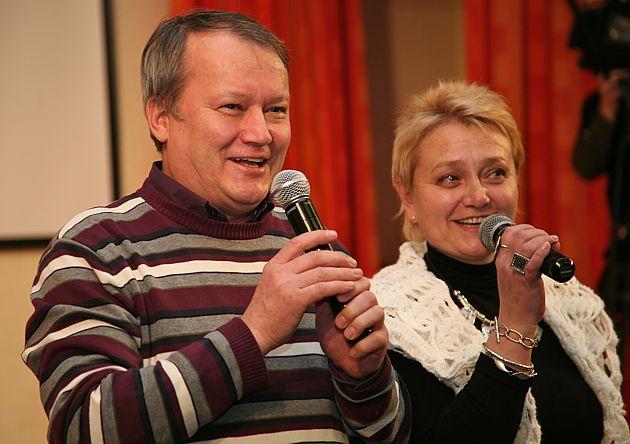 Павел Печенкин и Елена Зорина-Новоселова