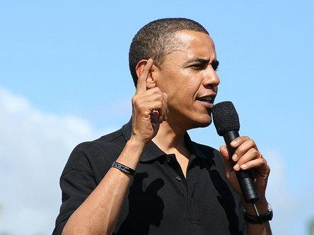 Врейтинге всех президентов США Обама занял 12 место