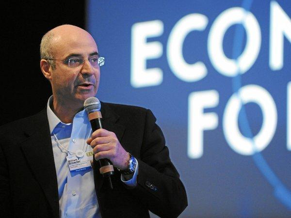 Уильям Браудер на Всемирном экономическом форуме в Давосе в 2011 г. Фото Форума