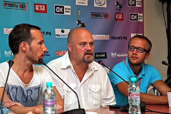 Виктор Прокофьев, Алексей Федорченко и Павел Шевский