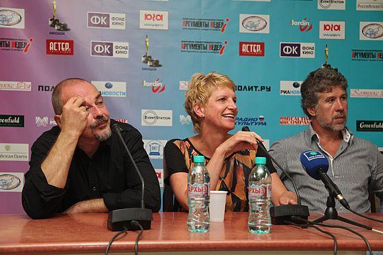 Арвис Колманис, Инара Колмане и Валерий Яременко. Фото Наташи Четвериковой