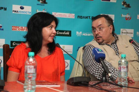 Наталия Беляускене и Вячеслав Шмыров