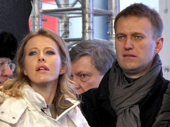 Собчак: «Если Навального зарегистрируют, ясниму свою кандидатуру»
