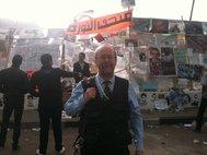 Андрей Коротаев на площади Тахрир