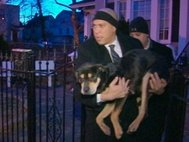 N.J. Mayor Cory Booker Helps Rescue Freezing Dog (ABC News)