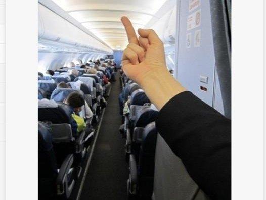 Ебем стюардессу