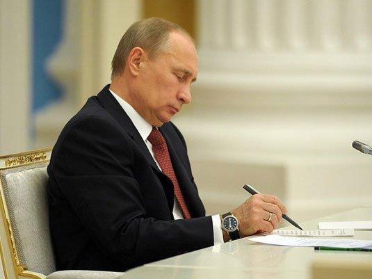 Путин призвал СМИ непровоцировать искаженные  ожидания итревоги