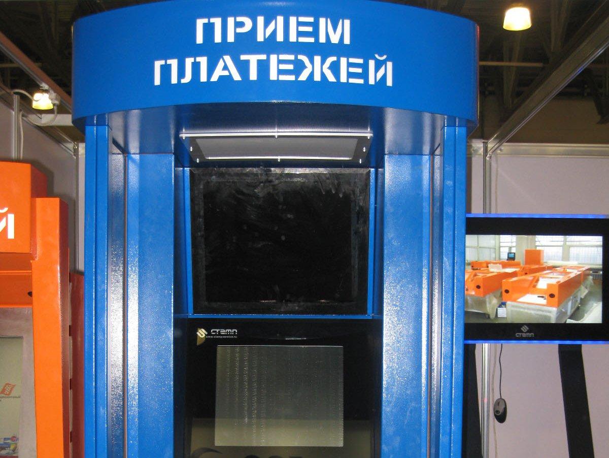 корпус платежного терминала схема