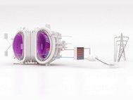 Схематическое изображение термоядерного реактора