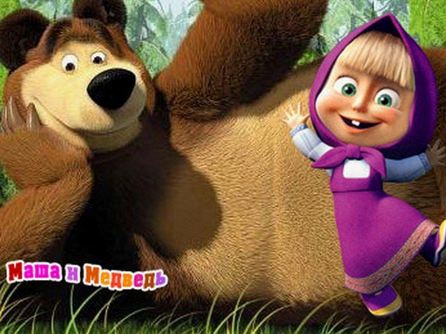 Персонажи маши и медведя станут