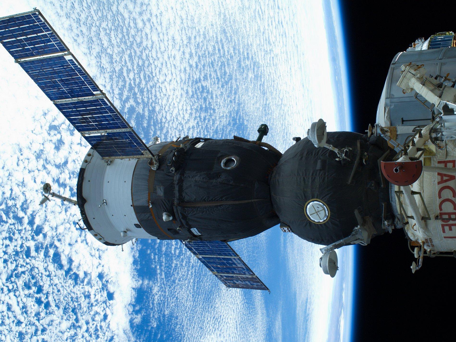 Союз ТМА-М на МКС