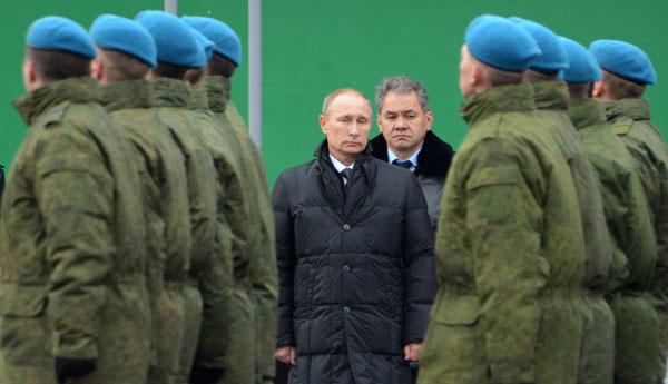У неслуживших в армии  путина и шойгу дедовщина продолжает процветать