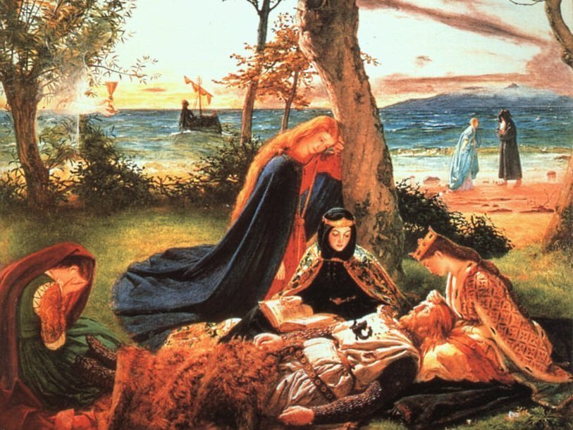 types of archetypes in the arthurian legends