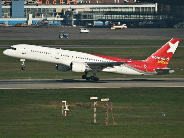 Самолет NordWind Airlines