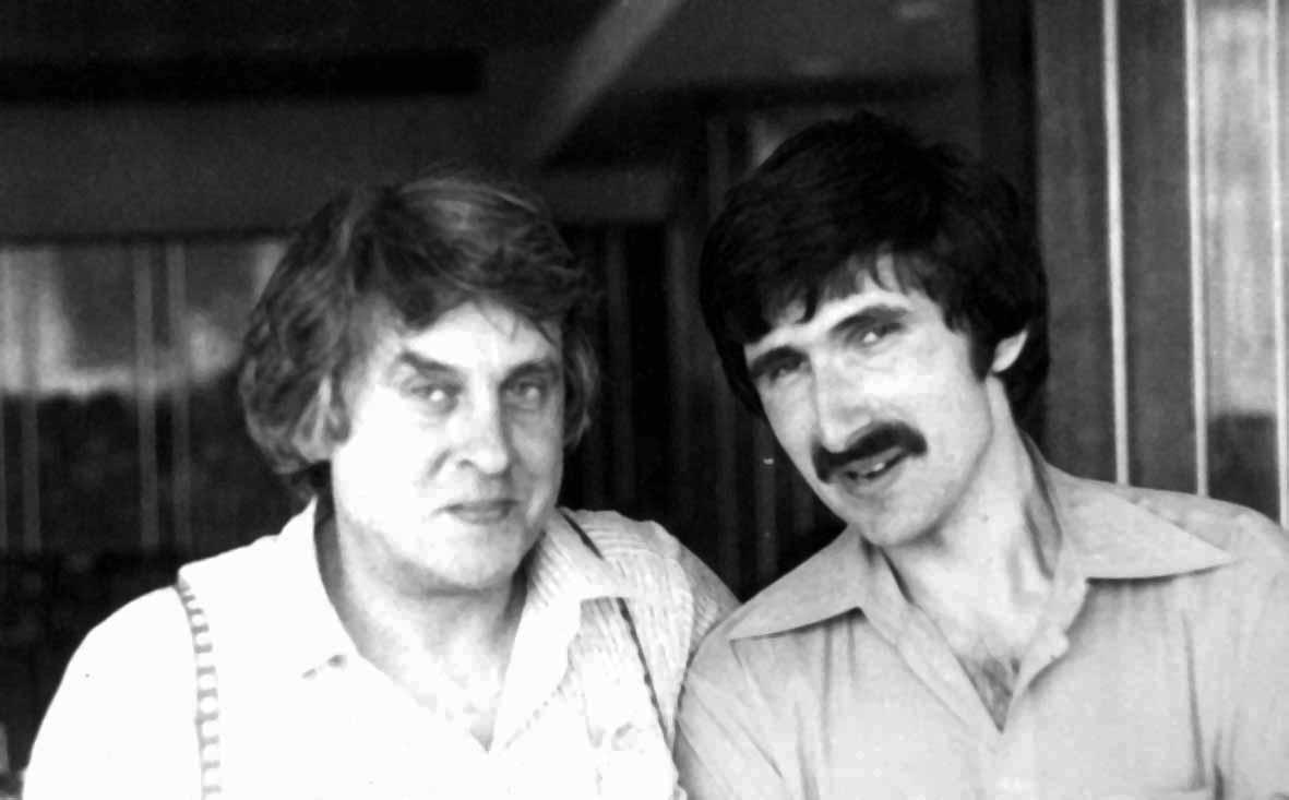 Николай Поболь и Павел Полян, 1970 г.