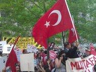 Демонстрация в Стамбуле