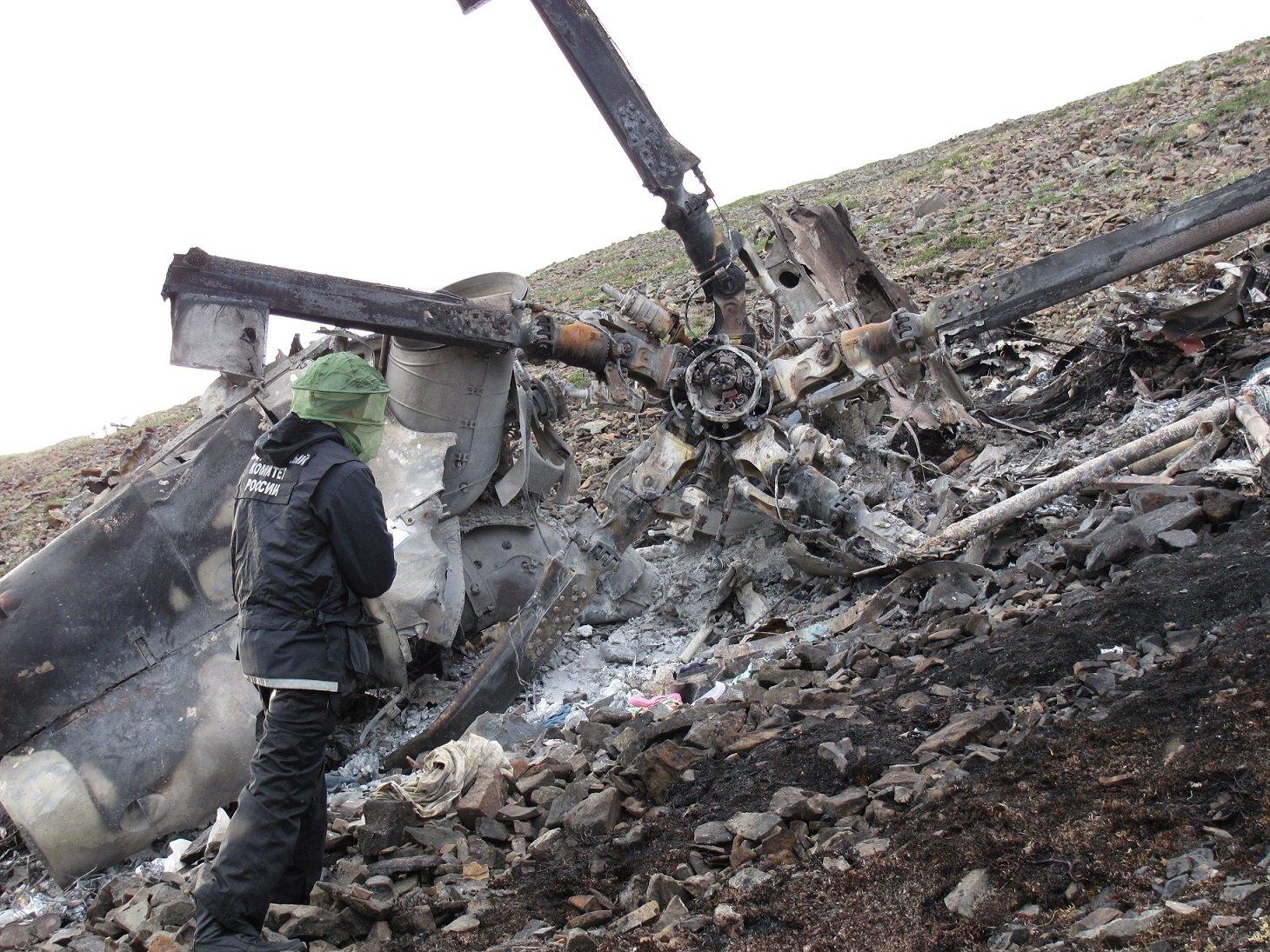 Российский военный вертолет Ми-8 сгорел после жесткой посадки на Сахалине - Цензор.НЕТ 9048
