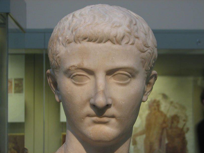 Бюст императора Тиберия в Британском музее