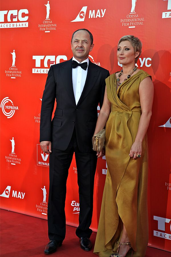 Сергей и Виктория Тигипко