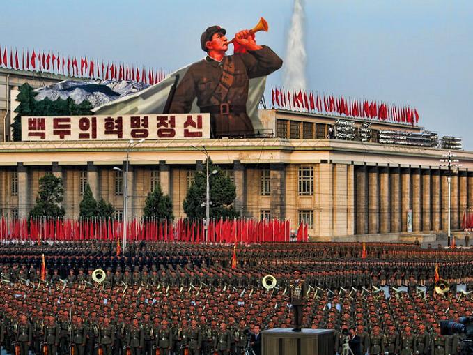 Северная Корея пригрозила превратить США в«море пламени»
