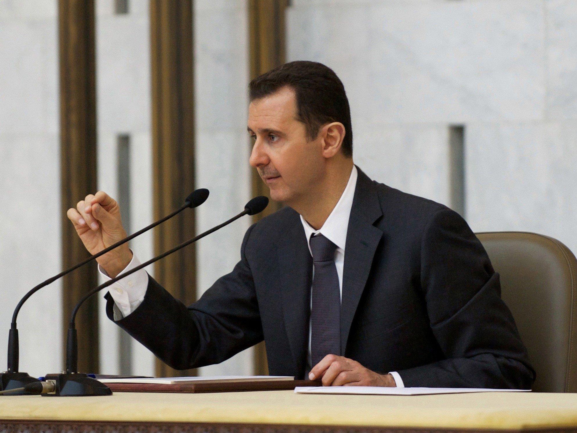 Асад: Боевики уничтожили неменее 50% средств ПВО Сирии