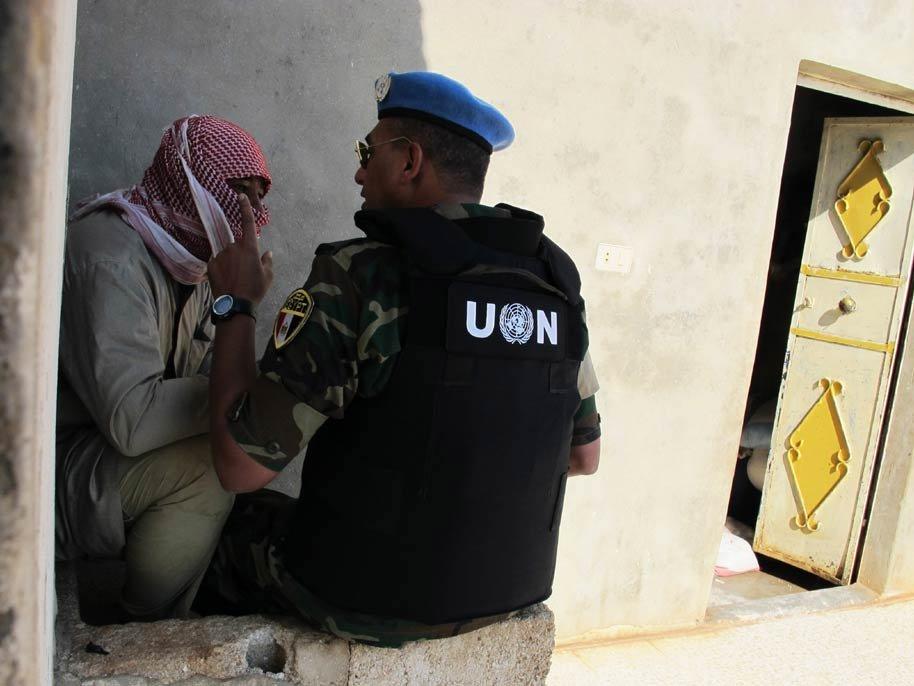 Сирия против привлечения наблюдателей ООН взоны деэскалации
