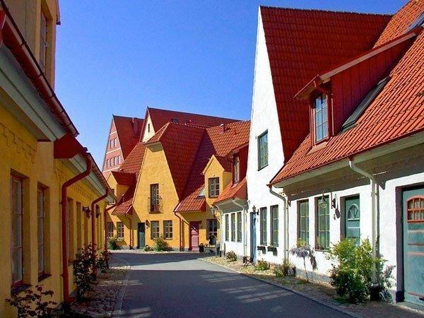 Район Якриборг. Швеция