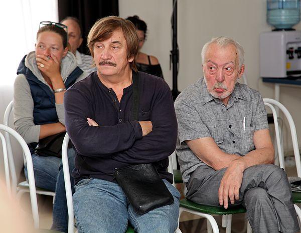 Виктор Тихомиров и Андрей Битов