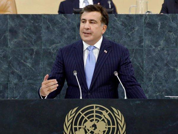 Саакашвили задекларировал небольшую заработную плату, комнату вОдессе иземлю вГрузии