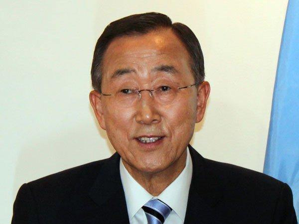 Пан Ги Мун призвал к назначению женщины генсеком ООН
