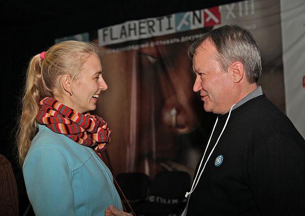 Дарья Сидорова и Павел Печенкин. Фото Н.Четвериковой