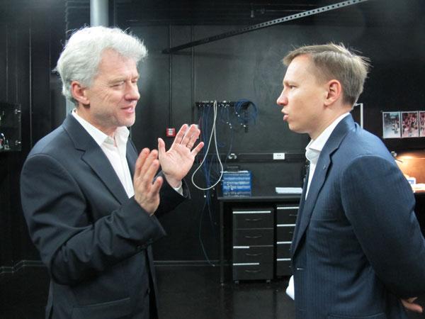 Юджин Ползик (слева) и Руслан Юнусов