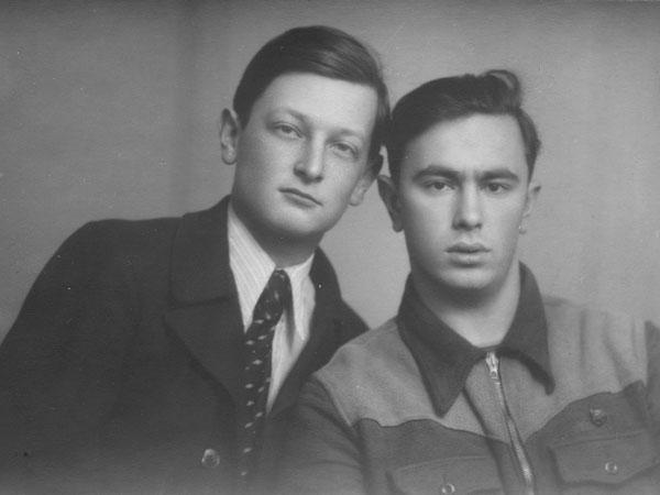 Николай Каверин и Анатолий Вершик, 1951
