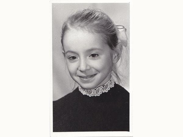 Наталия Демина в детстве