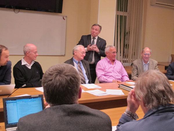 Ученые обсудили необходимость проведения новой Конференции научных сотрудников РАН, 15 января 2014 года