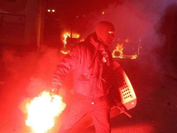 Ужасы майдана. Линия огня. 19.02.14