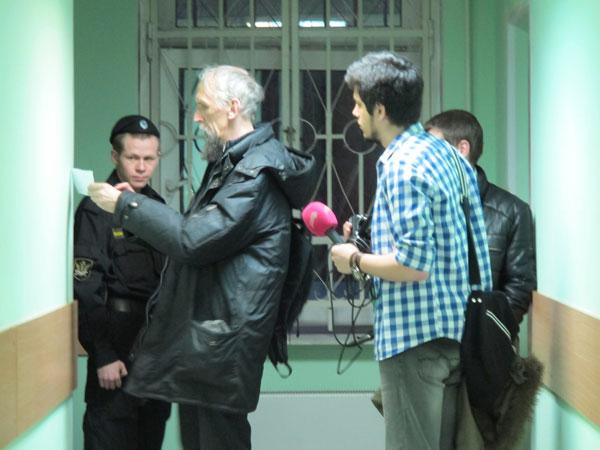 Виктор Васильев после объявленного приговора, 5 марта 2014 года