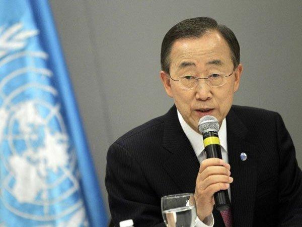 Пан ГиМун обвинил президента Сирии в смерти сотен тыс. людей