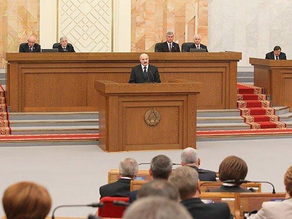 Ежегодное послание Александра Лукашенко