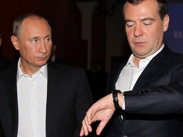 Песков: Путин 15мая может слушать  предложения Медведева покабмину